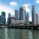 Singapore-skyline-water