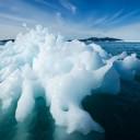 Arctic melting ice