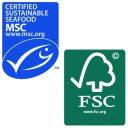 MSC and FSC logos