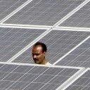 India's world largest solar plant
