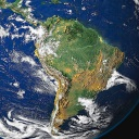 Latin America seen from space