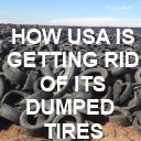 Dumped tires USA
