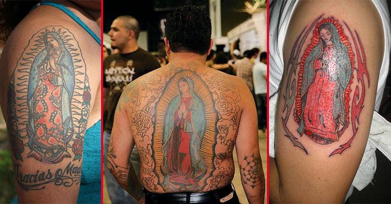 Tatuaje Virgen De Guadalupe El Ruinaversal