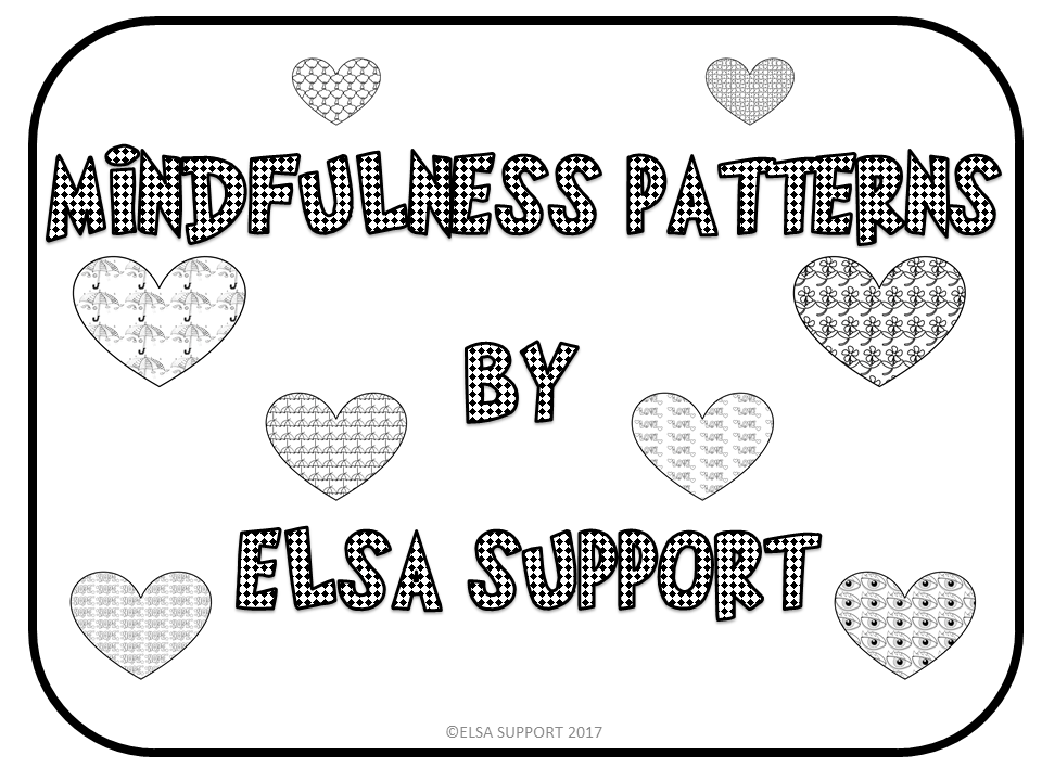 Mindfulness Colouring Book Elsa Support