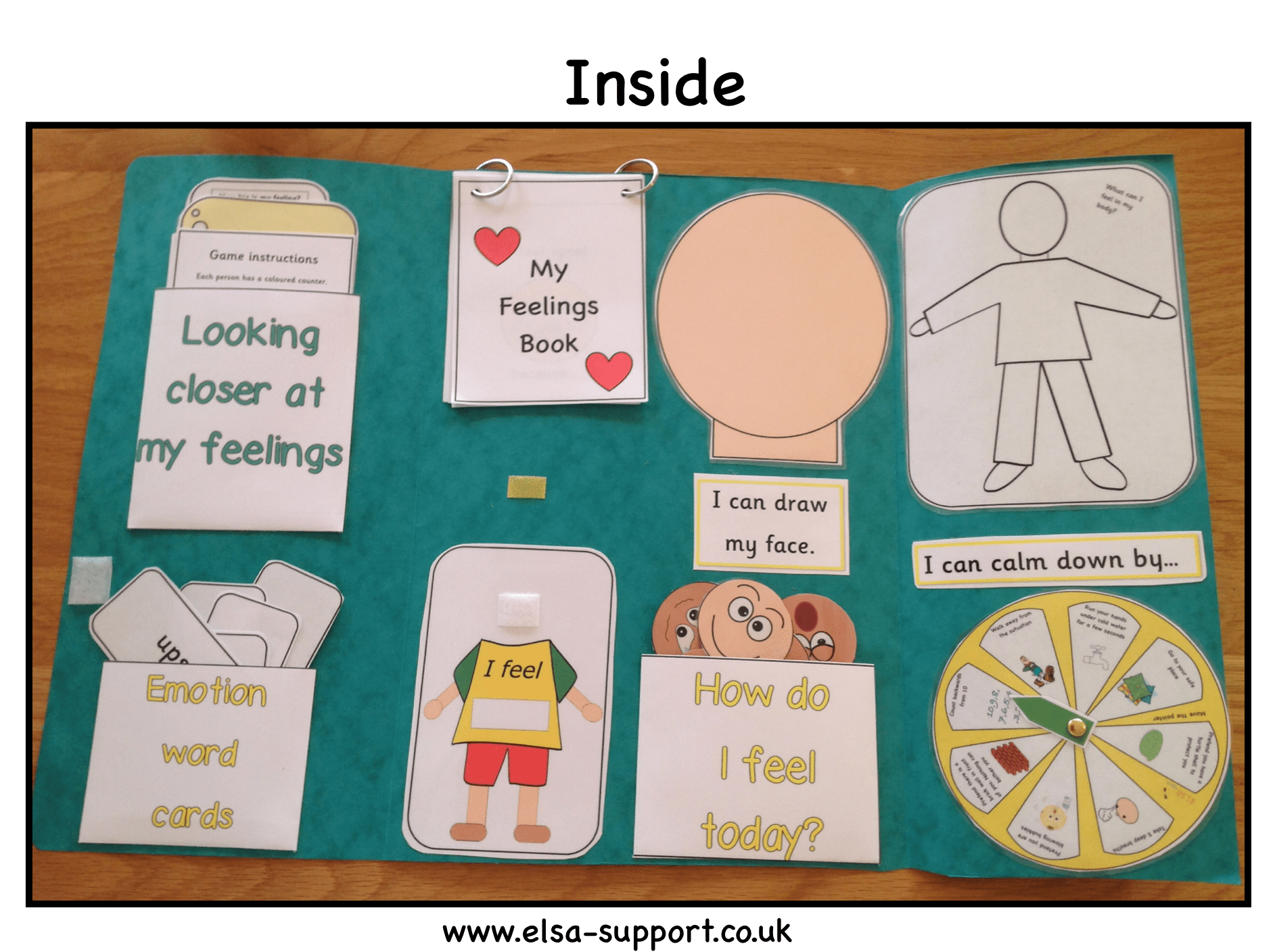 Feelings Lapbook