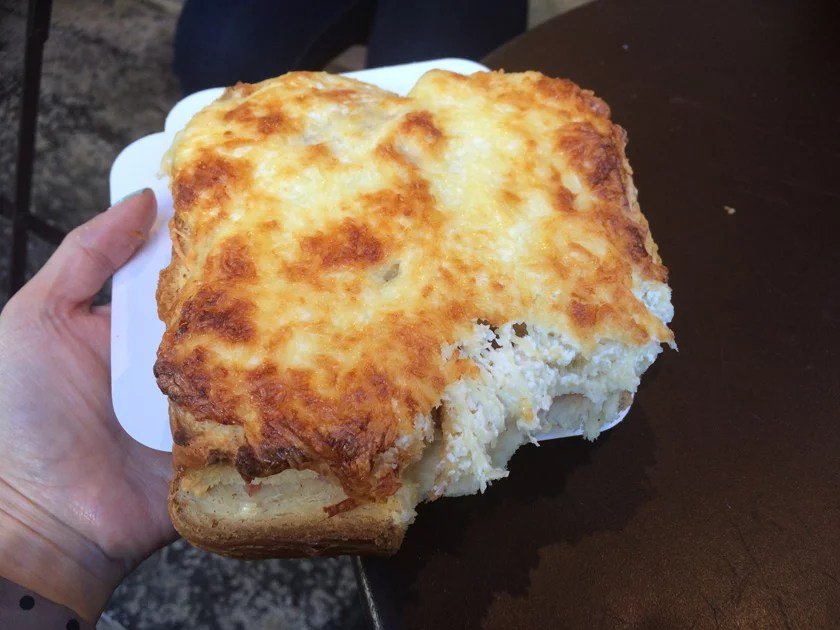 Croque Monsieur from La Badine de Martine