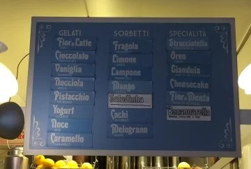 Nanarella menu next day