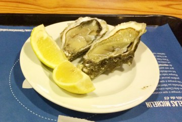 Oysters from Monte Mar