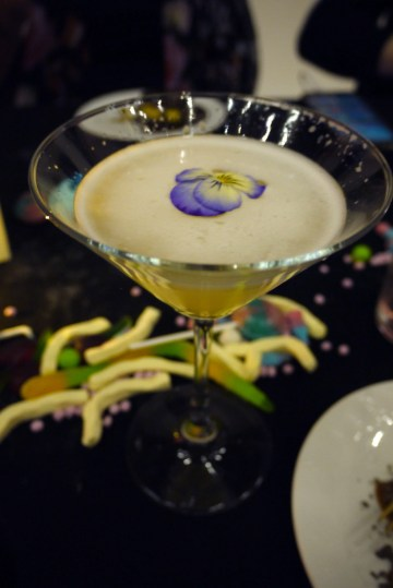 Passionfruit, ginger, Cointreau and Bacardi