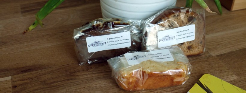 Lemon Drizzle cake selection