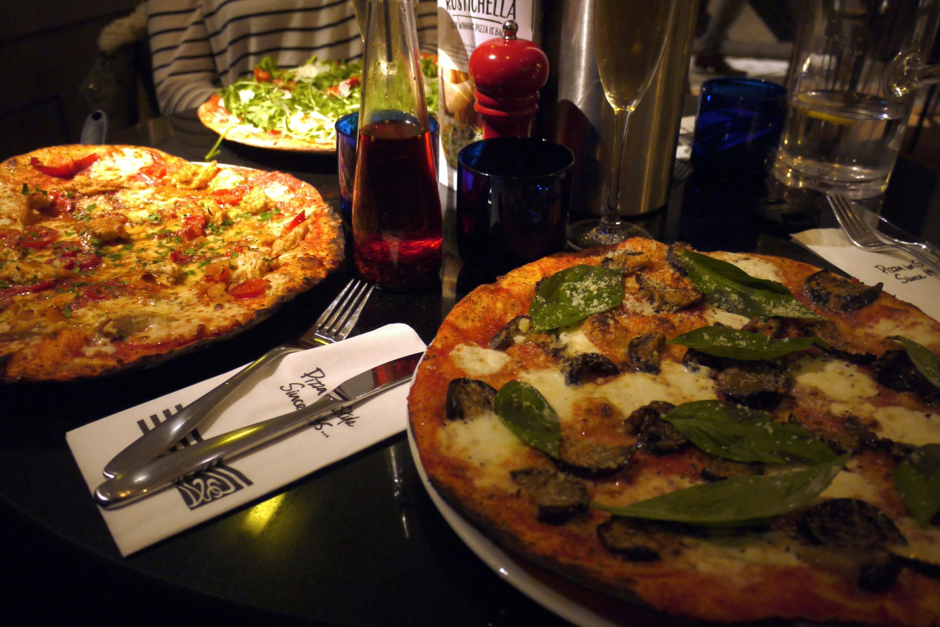 Review Of The Food At Pizza Express In Didsbury Manchester