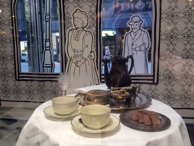 Fazer cafe window display