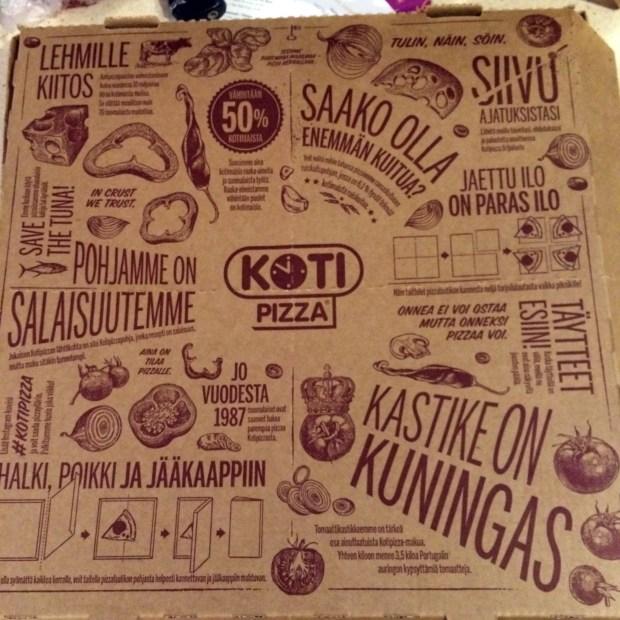 Kotipizza box