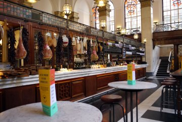 Jamie's Italian King St, bar