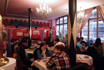 Richmond Tea Rooms tables