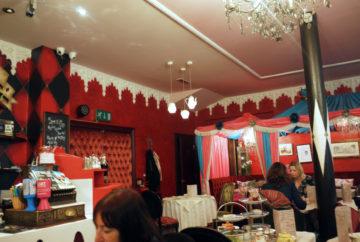 Richmond Tea Rooms tea lights