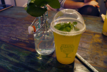 Lemonade with basil £3.45