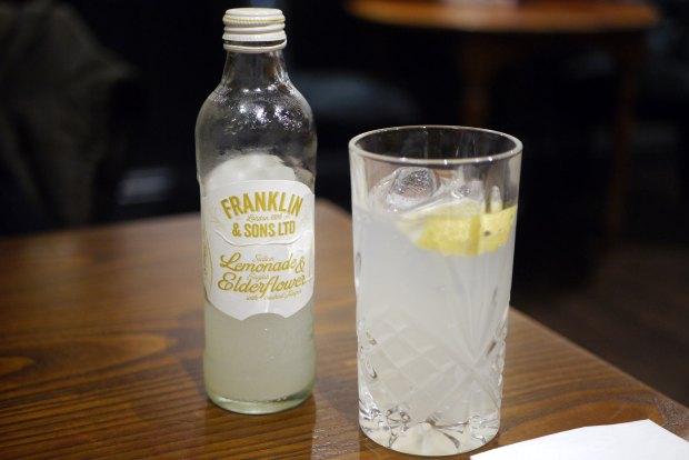 Franklin & Sons lemonade and elderflower (£2.25)