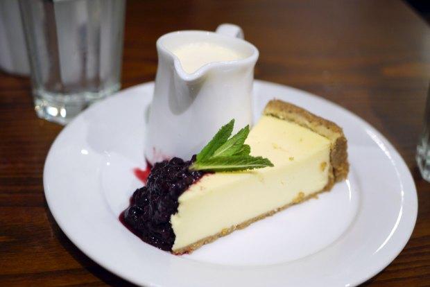 Vanilla cheesecake (v) (gf) (£4.75)