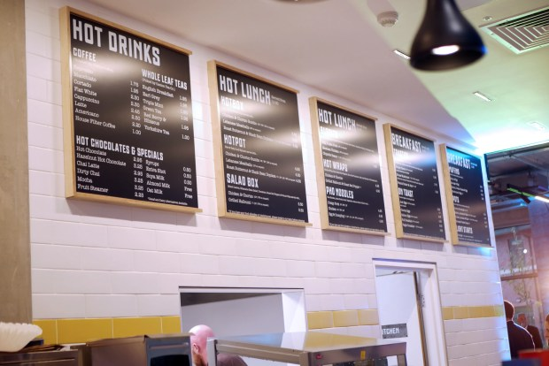 Friska menu