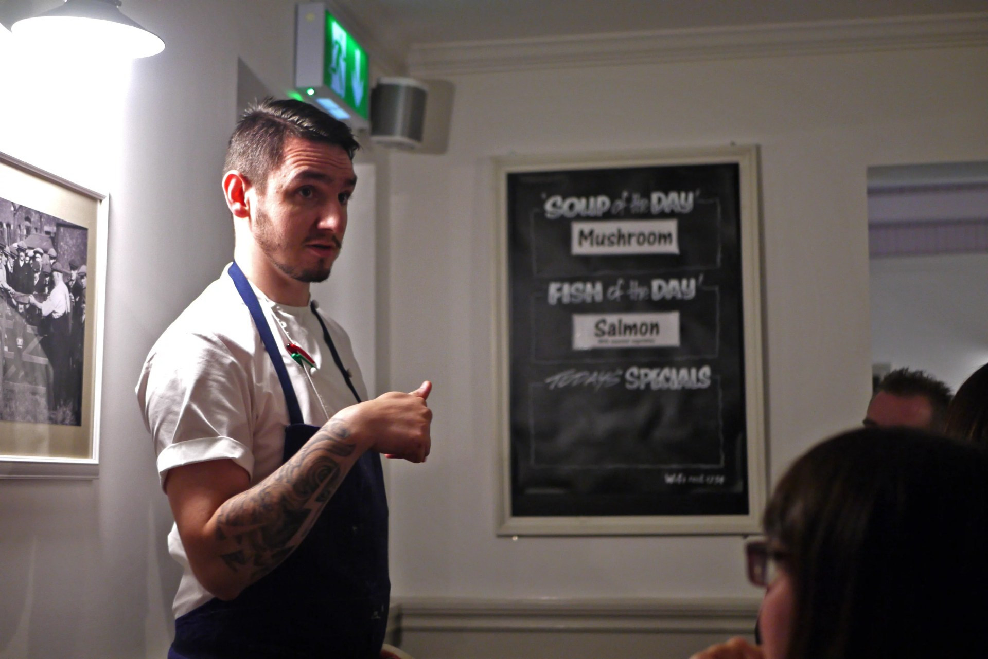 Lewis Gallagher, Head Chef