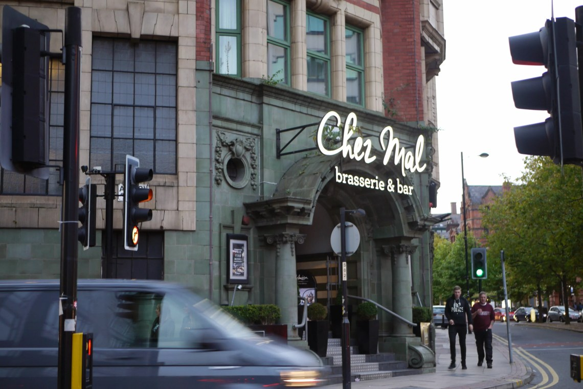 Chez Mal exterior in Manchester