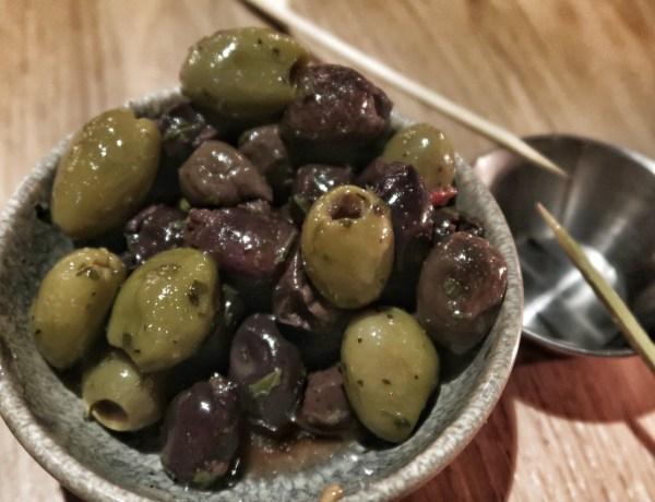 Nocellara olives (£3)