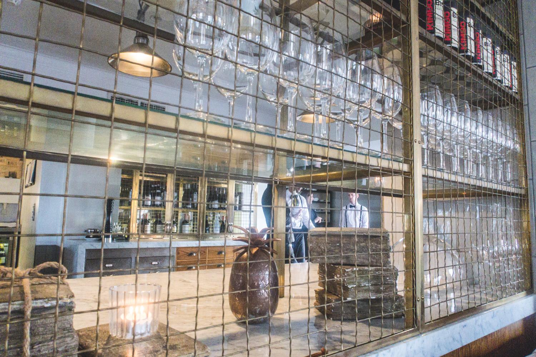 Honey Restaurant interior