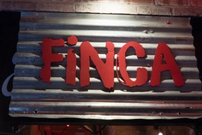FINCA sign