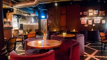 Seating at Alston Bar, 1837 bar