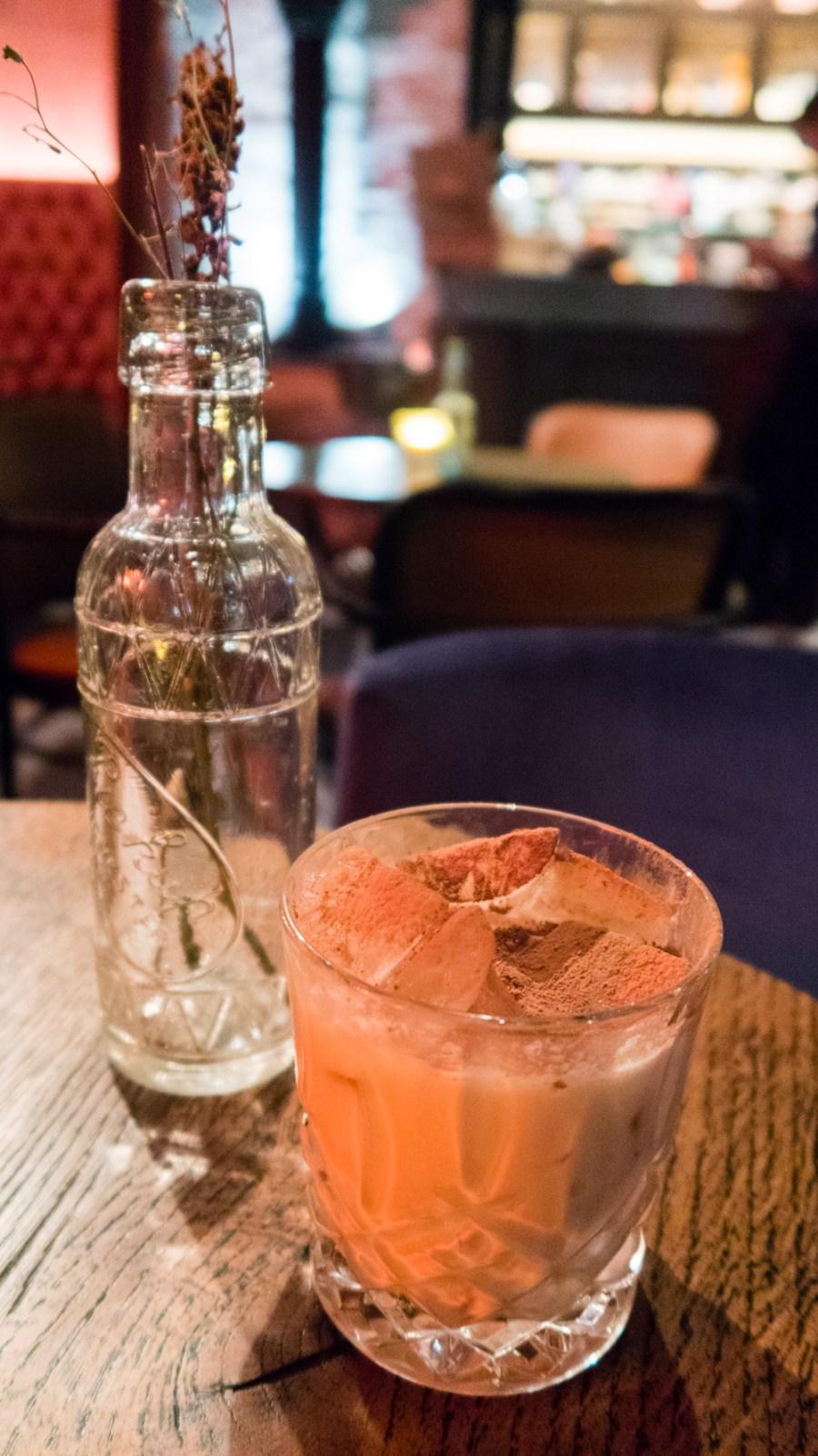 Alston Bar Toblerone Cocktail
