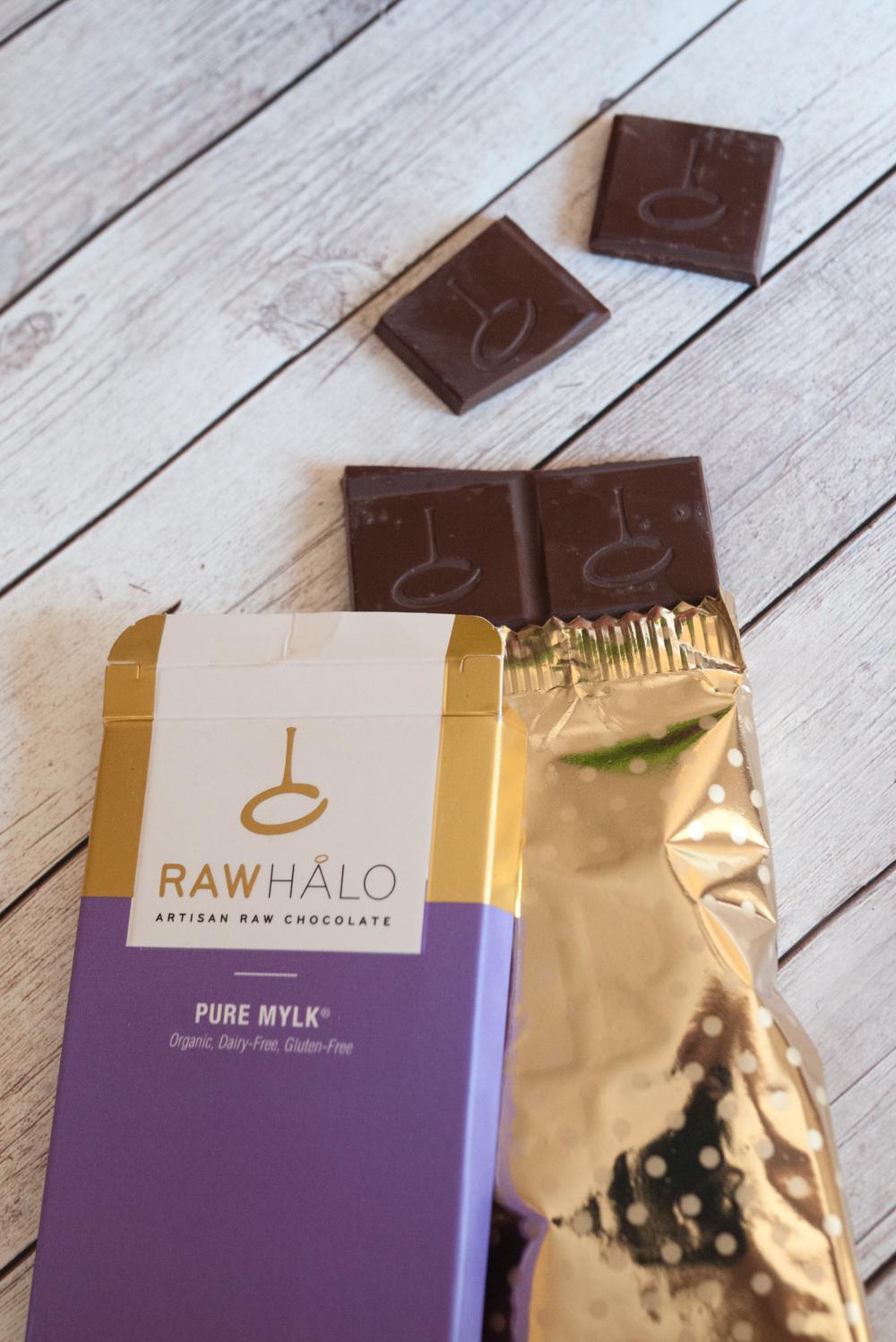 Pure Mylk Raw Halo chocolate