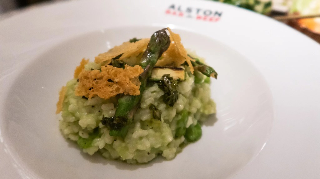 Broad Bean and Pea Risotto