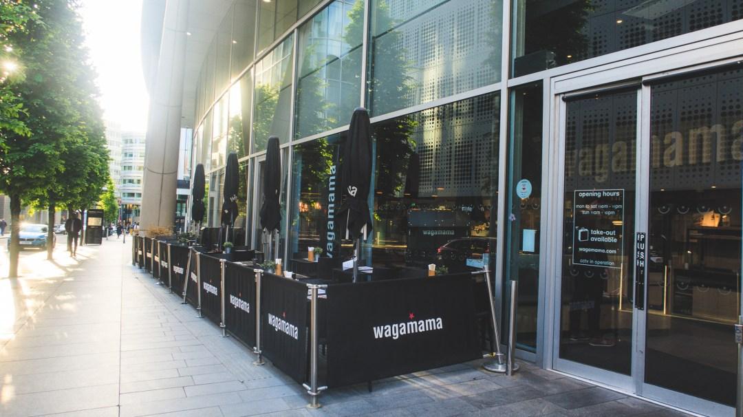Wagamama Spinningfields exterior