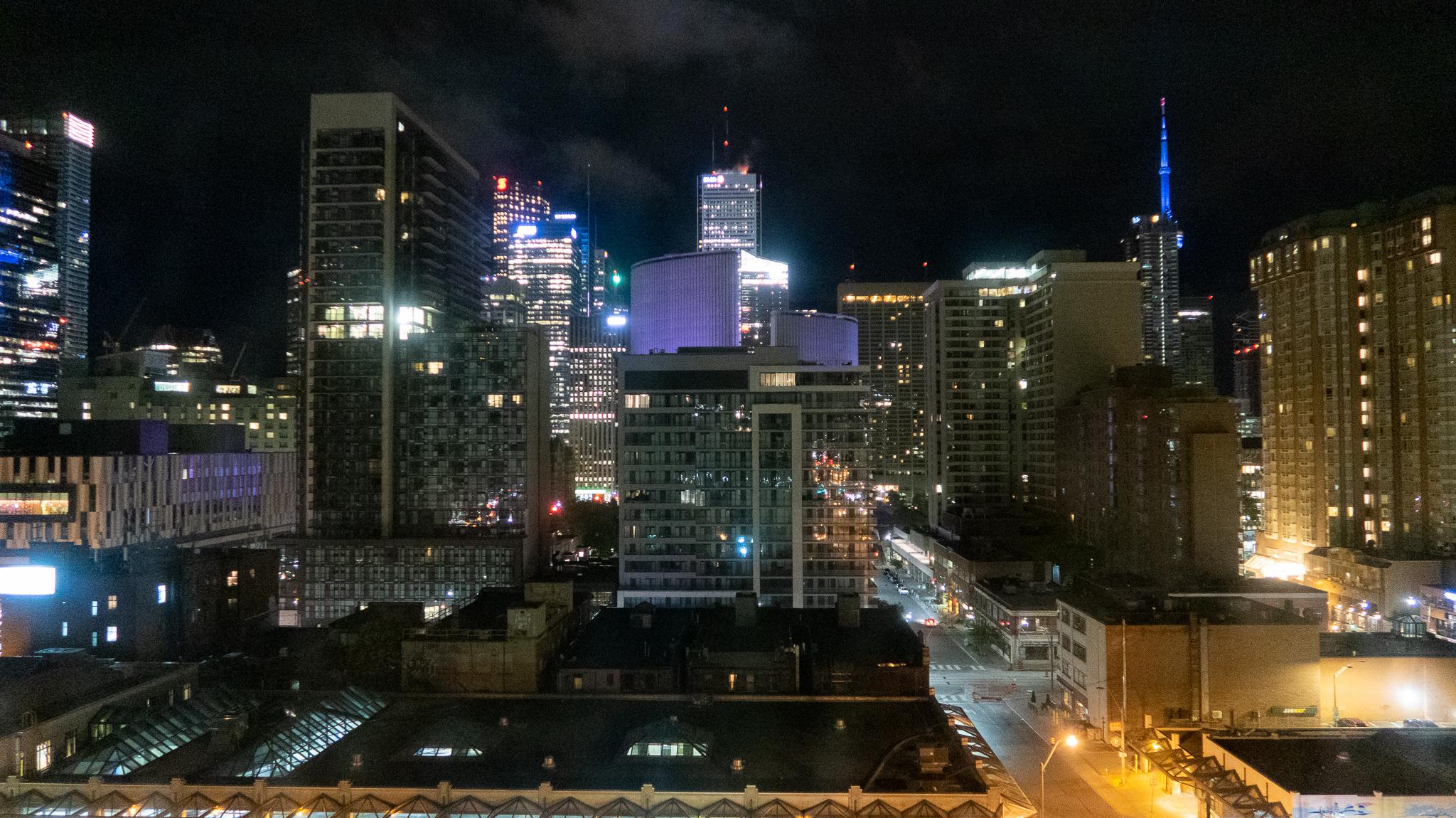 Toronto night scene