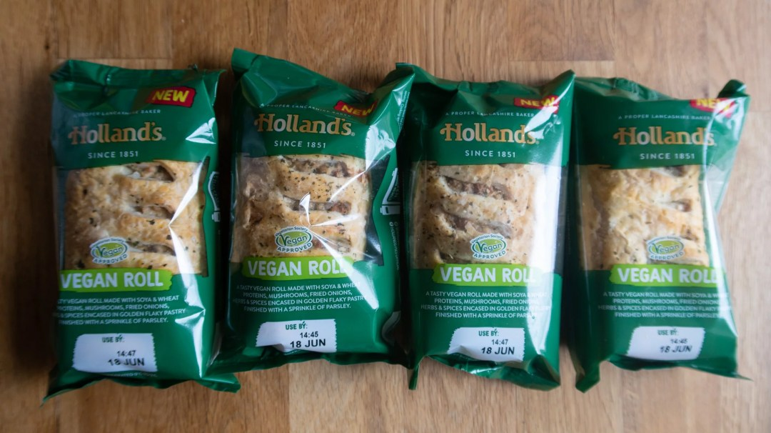Holland's Vegan Rolls