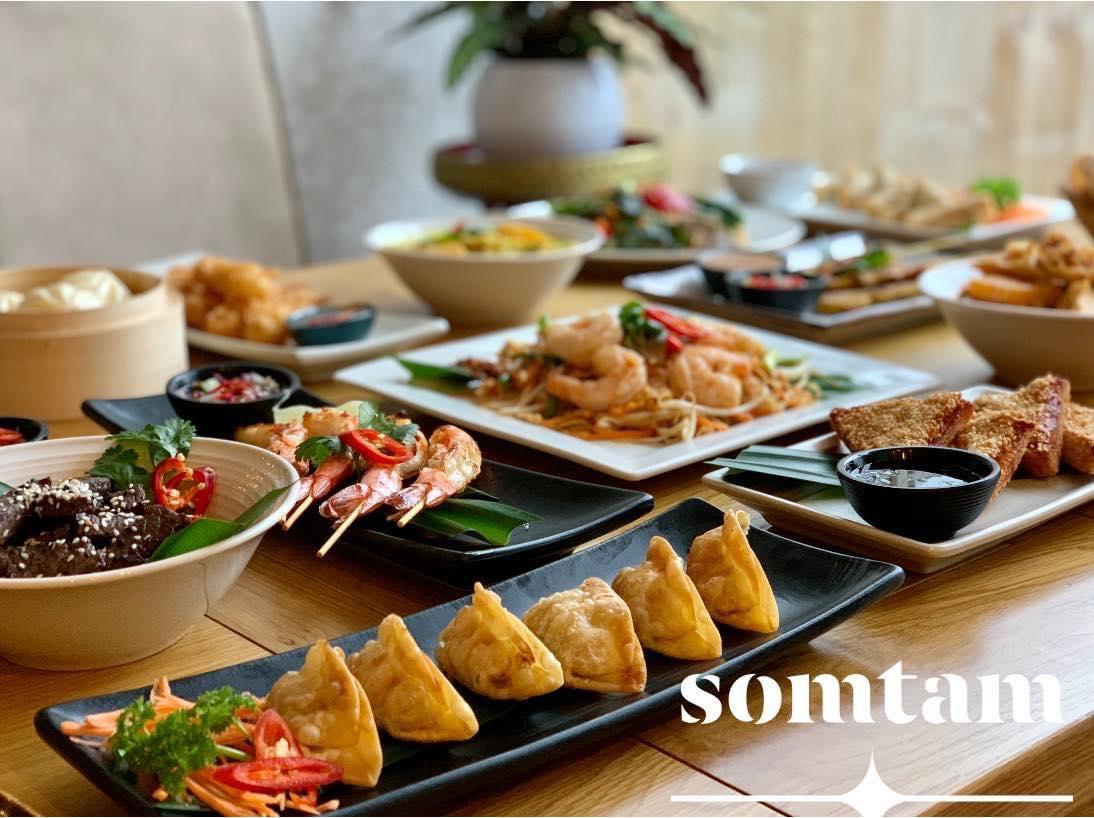 Somtam Street food