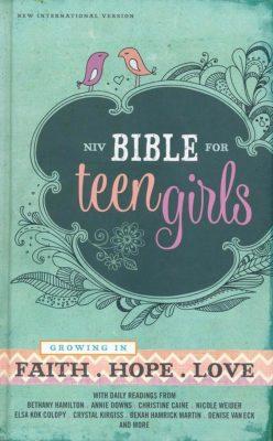 Book: Bible for Teen Girls