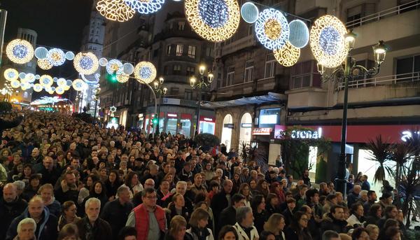 Sanidade Publica Vigo Manifestación decembro