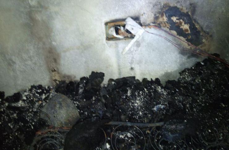 Cuarto quemado