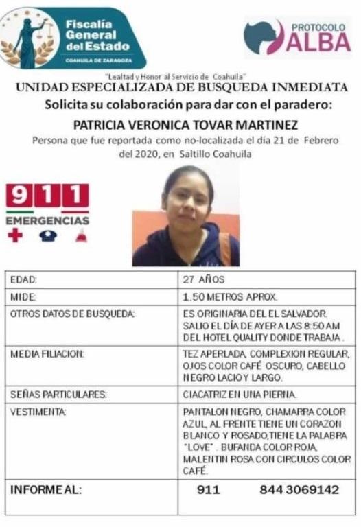 Desaparecida en México