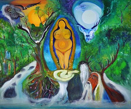 Mari, la Diosa Madre de los Pirineos