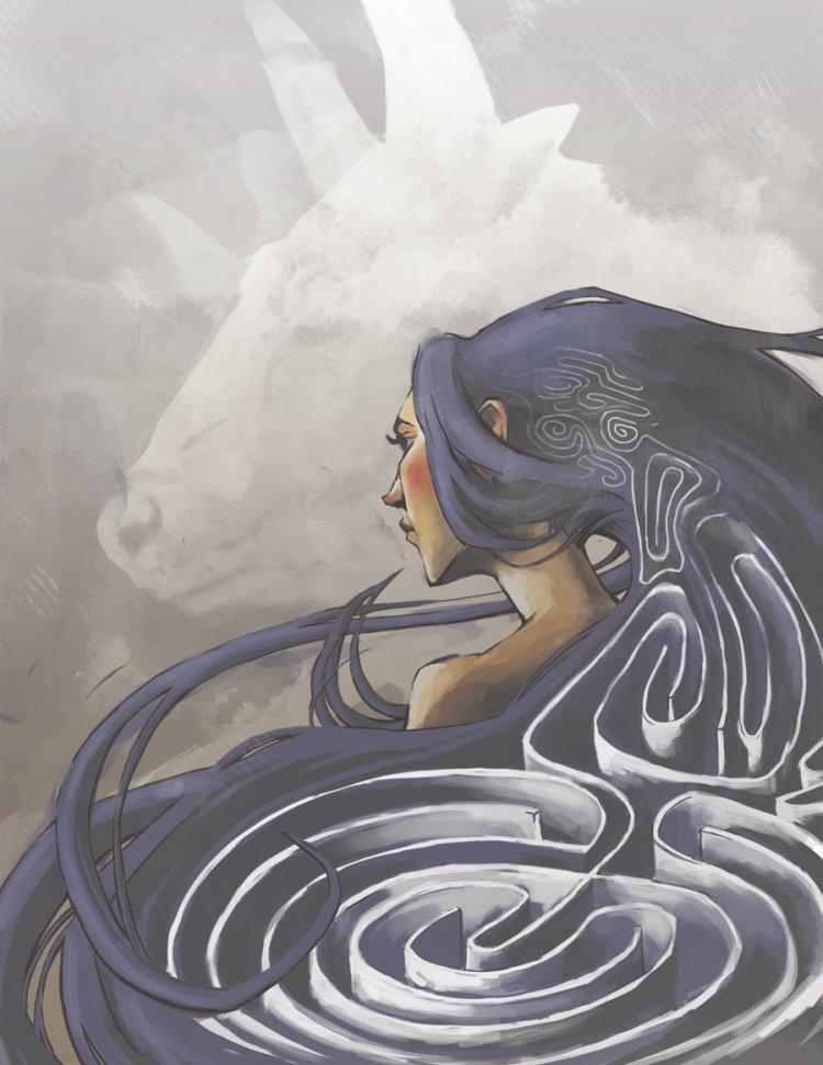 Ariadna, la Señora del Laberinto