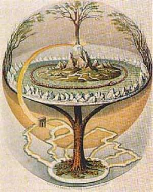 Axis mundi o árbol cósmico