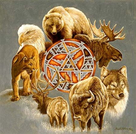 Cada uno de nosotros tiene un animal particular como su Medicina personal, es el Totem Principal.
