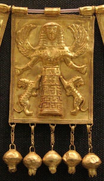 "Es el animal tótem de la diosa Minoica ""Potnia Theron"" la reina de las abejas."