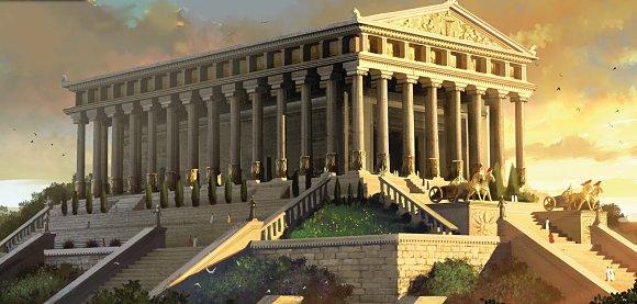 El Templo de Artemisa Efesia