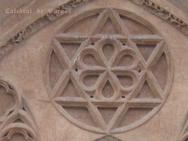 BURGOS Catedral Hexagrama