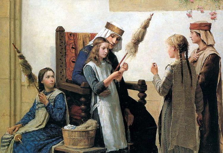 Los Misterios Mágicos del Poder Femenino: La Rueca y el Huso