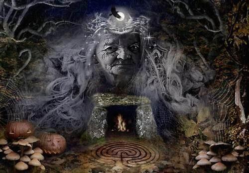 Cailleach, la Diosa Celta del Invierno
